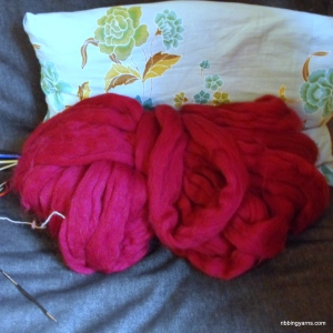 It feels like I have a pink sheep living in the flat!
