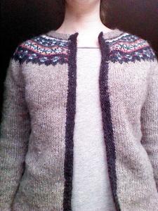 Steeked Sweater