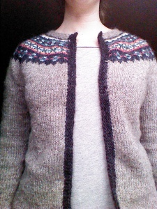 Steeked Sweater