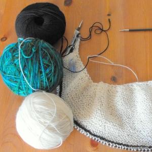 magpie shawl