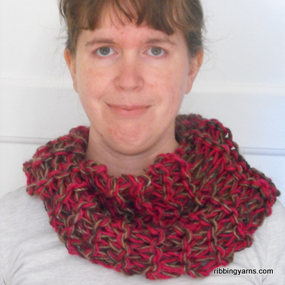 Another big knit: this time a cowl out of scrap lopi left over from the blanket, mixed in with more lopi..who kknows why i'm knitting cowls in a heatwave but i love them!