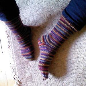 stripey socks